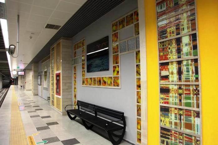 Bağcılar Metrosu Şehir Mobilyaları